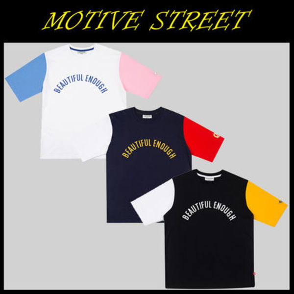 無料配送MOTIVESTREET★COLOR BLOCK SST 3色
