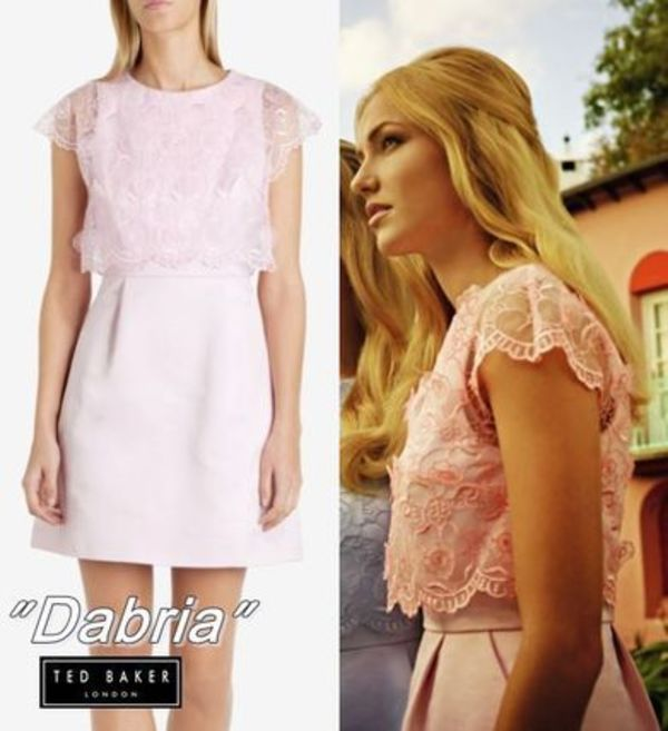 "【TED BAKER】""Dabria""レース♪ワンピース"