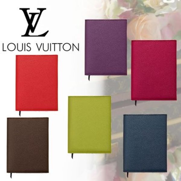 LOUIS VUITTON ルイヴィトン ノート カバー 革 6色展開 17AW
