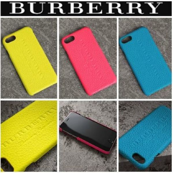 ♥BURBERRY♥18SS iPhone 7 NEON 本皮ース♪