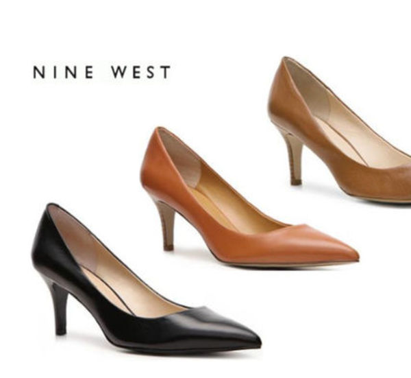 Sale★【Nine West】パンプス★Elise Leather Pump