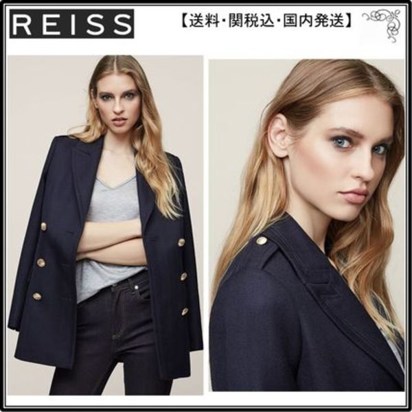 【海外限定】REISSブレザー☆PAX DOUBLE-BREASTED JACKET