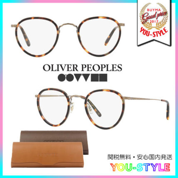 OLIVER PEOPLES 大人気 ロイド眼鏡 セレブ愛用 可愛い べっ甲