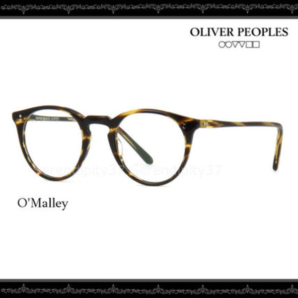 【送・関税込】OLIVER PEOPLES O'Malley /1003 Cocobolo