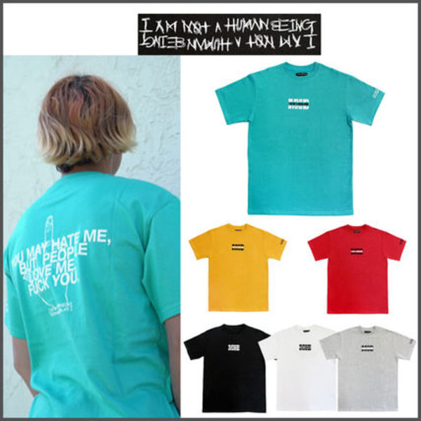 【I AM NOT A HUMAN BEING】 IMXHB ロゴ Tシャツ 6色/追跡送料込
