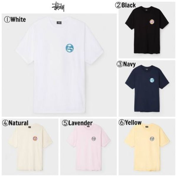 【STUSSY】☆17SS新作☆大人気☆Reggae Surf Dot Tee