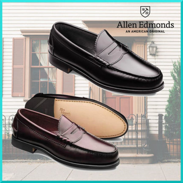 米大統領 愛用Brand☆ Allen Edmonds KENWOOD ローファー