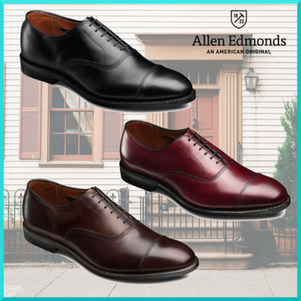 米大統領 愛用Brand☆ Allen Edmonds PARK AVEレザーシューズ
