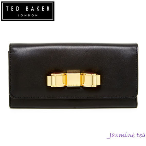 ★セール即発★TED BAKER Bestuck Small Bow Matinee Wallet★