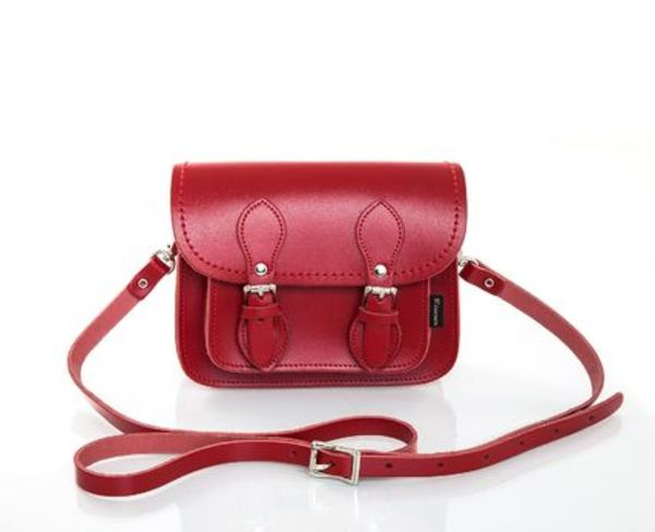 【Zatchels】 Classic Red  Micro  Satchel