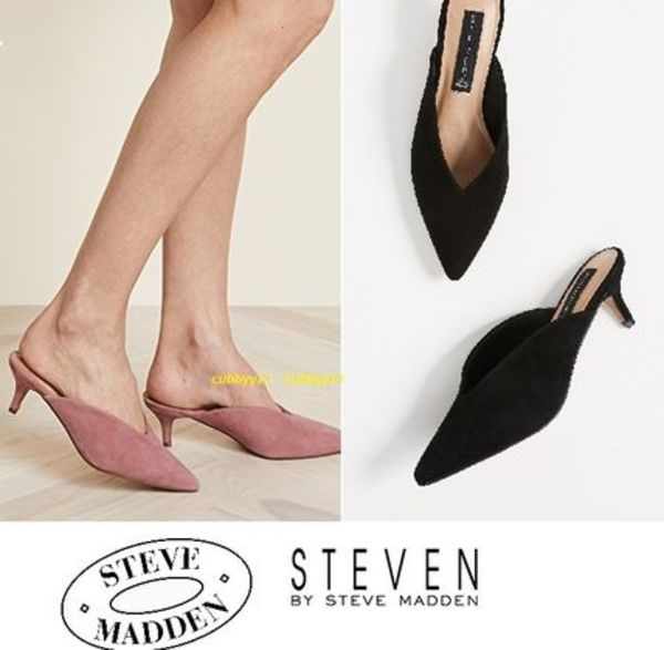 【キトンヒール♪】Steven by Steve Madden Ainsleyミュール