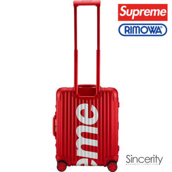 【即発】SUPREME RIMOWA TOPAS MULTIWHEEL / RED / 45L