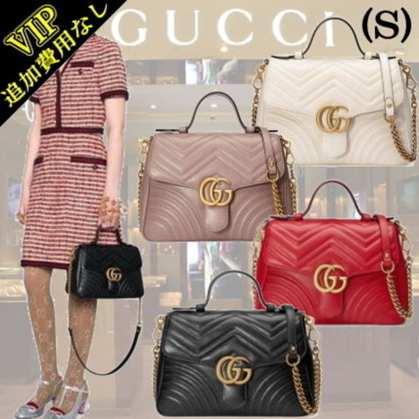 ◆◆VIP◆◆ GUCCI   'GG MARMONT 2.0' (S) 2Way バッグ/関税込