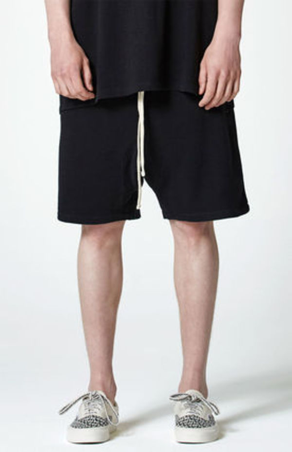 FW17 FOG FEAR OF GOD ESSENTIALS DRAWSTRING SWEAT SHORTS