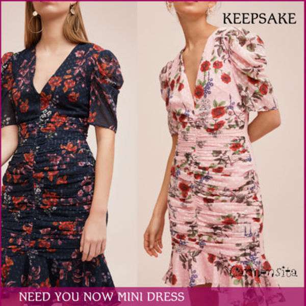 【国内発送/関税込】《Keepsake》NEED YOU NOW MINI DRESS