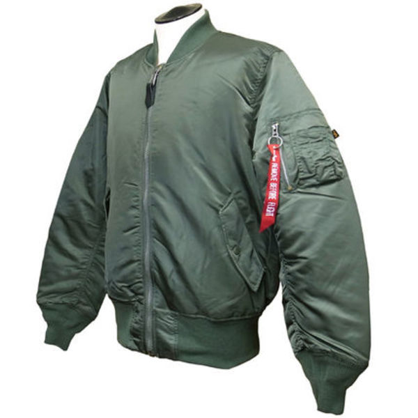 Alpha  MA-1 Flight Jacket Sage-XL(MJM21000C1-SAGEB)