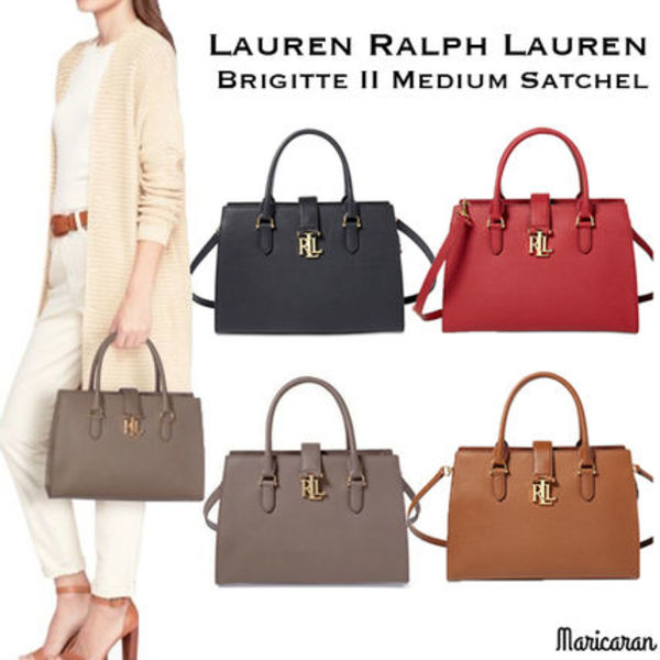 Ralph Lauren*Brigitte II Medium Satchel