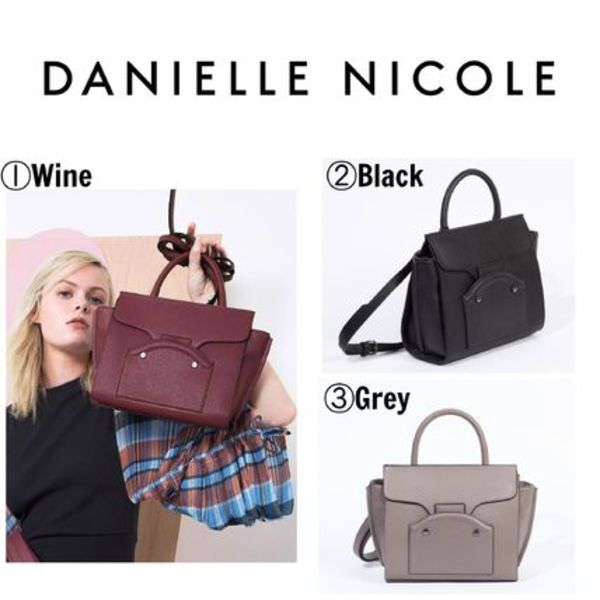 【DANIELLE NICOLE】●大人気●VERONICA MINI SATCHEL