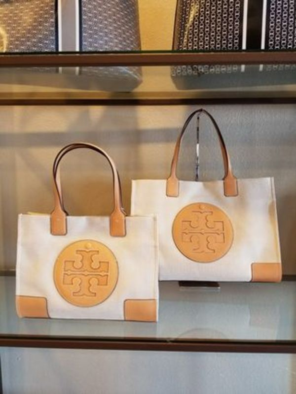 【即発◆3-5日着】TORY BURCH◆ELLA CANVAS TOTE ◆トート