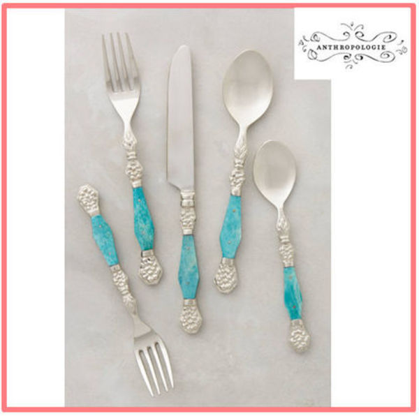 関税・送料込【Anthropologie】2015SS''Resplendent Flatware''
