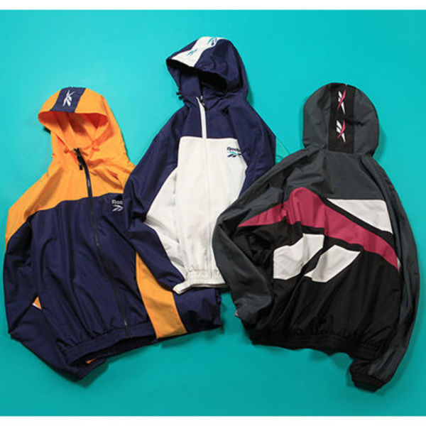 ★日本未入荷★CRITIC X REEBOK BIG VECTOR HOODED JKT【全3色】