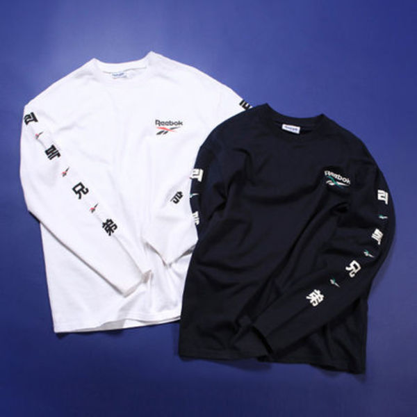 日本未入荷コラボ★CRITIC X REEBOK BROTHER LONG SLEEVE【2色】