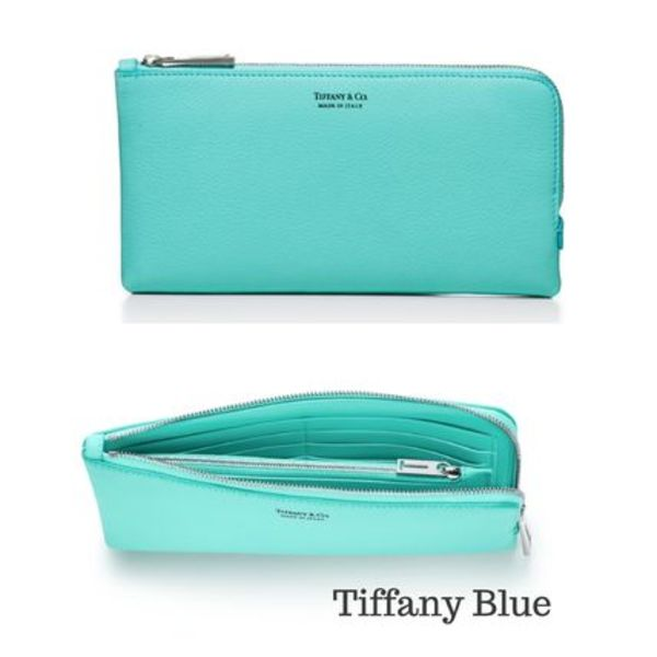 【Tiffany & Co】新作★Zip Wallet  (全3色)