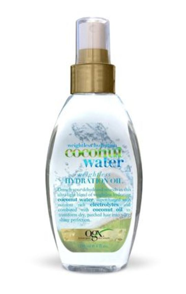 [OGX] Coconut Water Weightless Hydration Oil/ ヘアオイル