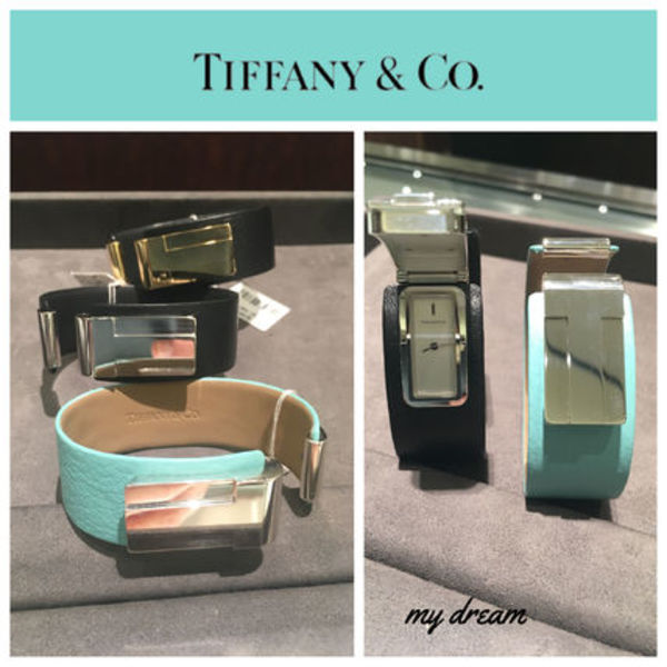NEW【Tiffany】 Tiffany T Bangle Watch in sterling silver