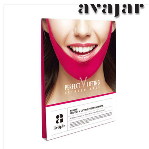 avajar★小顔コルセット★PERFECT V LIFTING PREMIUM MASK★1枚