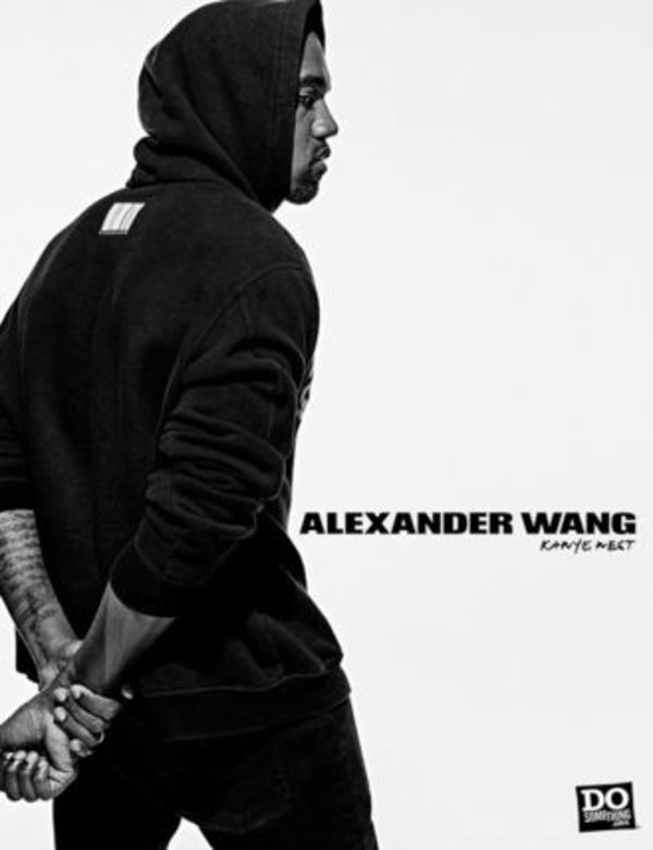 海外限定!!ALEXANDER WANG DoSomething hoodie black Kanyewest