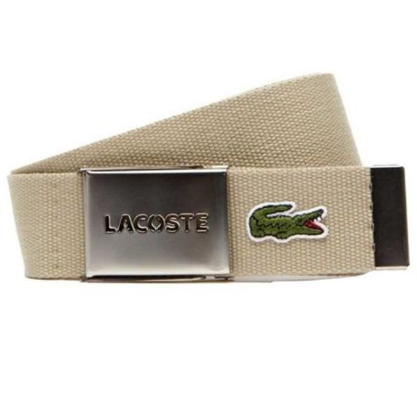 日本未入荷品☆Lacoste Belt With Perforated Plate☆三色あり