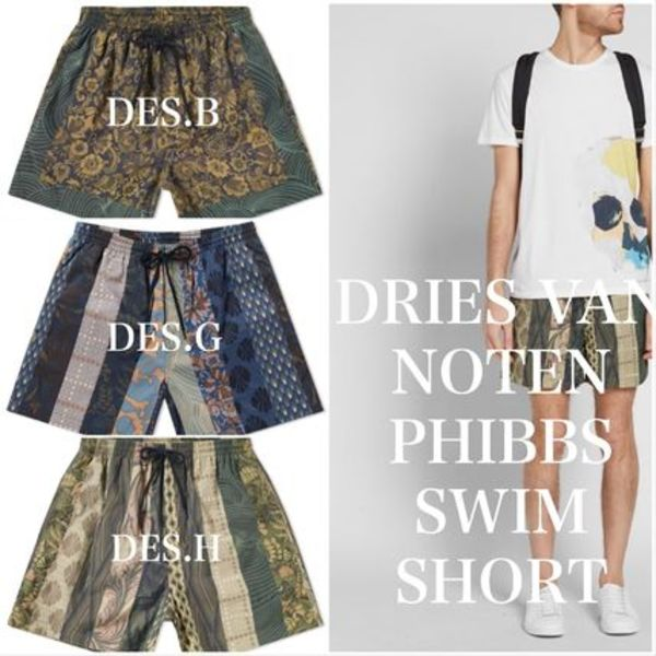 ★注目★  DRIES VAN NOTEN PHIBBS SWIM SHORT 送・関込