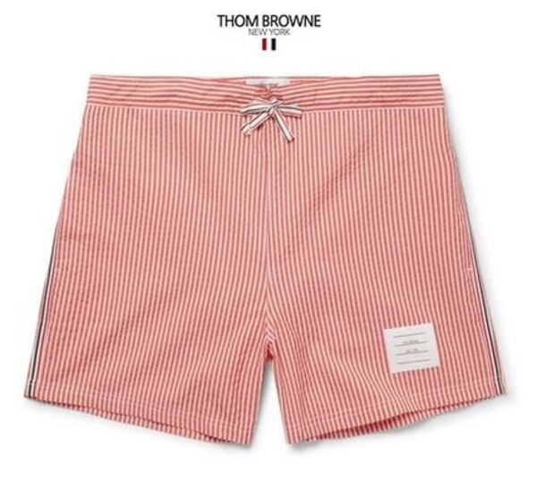 【Thom Brown】 18 新作水着 Striped Seersucker Swim 関税込み