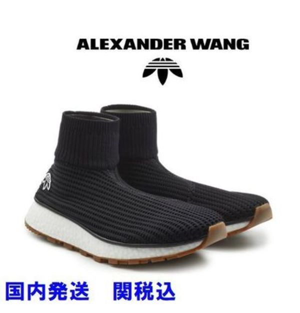 【国内発送】ADIDAS×ALEXANDER WANG Run Clean Sock スニーカー