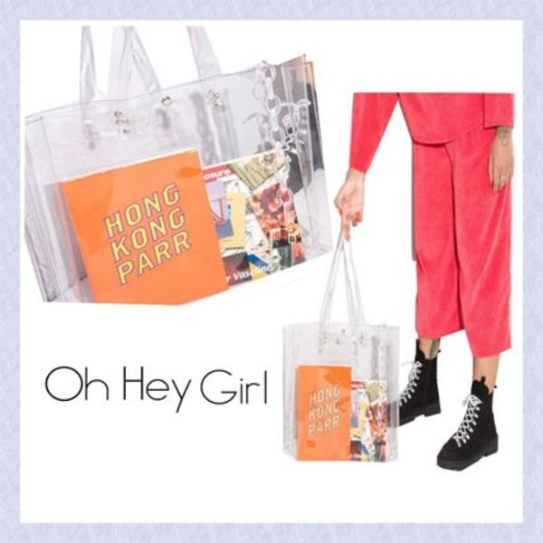 【Oh Hey Girl】Plastic トートバッグ