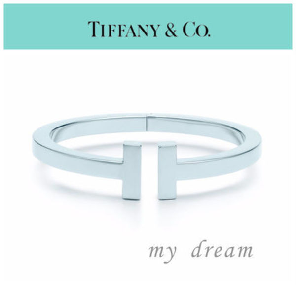 日本未入荷♪【Tiffany & Co】TIFFANY T SQUARE BRACELET