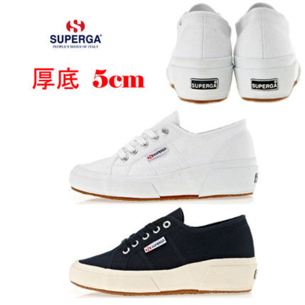 SUPERGA★2095 COTW LINEA UP AND DOWN★厚底☆22~25cm・2色