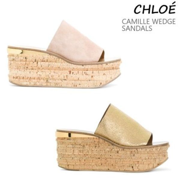 VIP価格!Chloe CAMILLE WEDGE SANDALS ♪