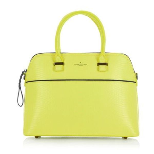 PAULS BOUTIQUE/EMS発送/16新作/MAISY NEON YELLOW SNAKE