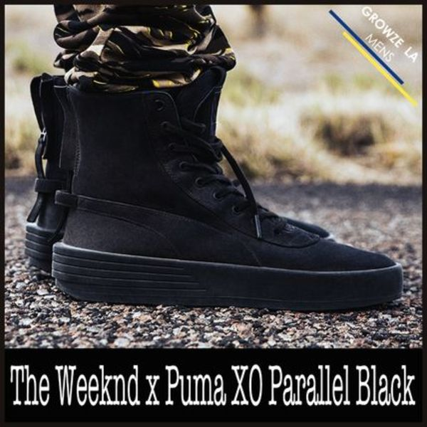 ★【PUMA】追跡発 コラボ The Weeknd x Puma XO Parallel Black
