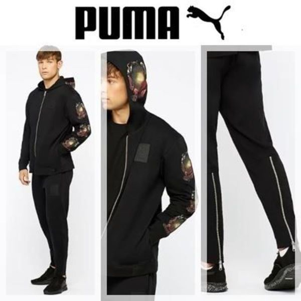 NEW PUMA× XO The Weeknd グラフィック フーディ上下セット