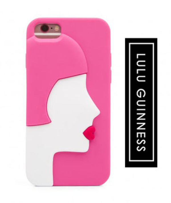 Lulu Guinness KISSING CAMEO iPhone 6/6S/7/8 ケース 追跡付