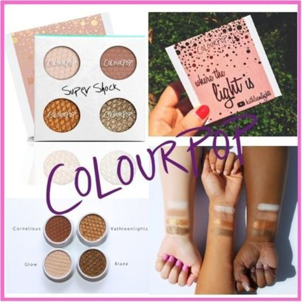 ColourPop【LA発★アイシャドウセット★Where The Light Is】