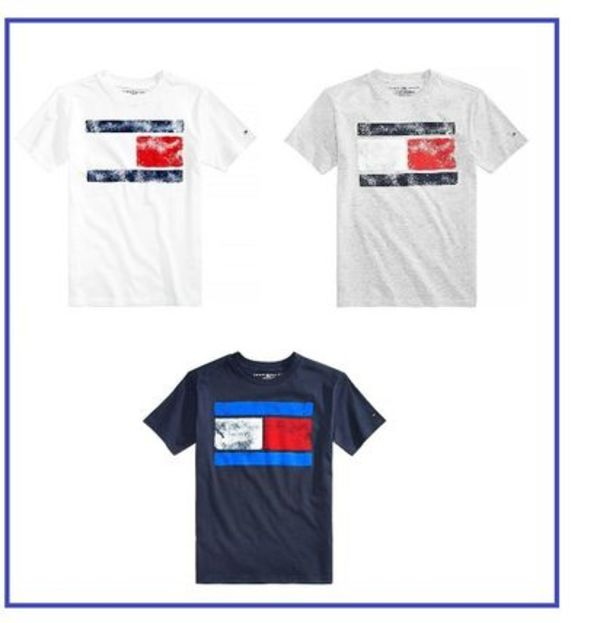 【TOMMY HILFIGER 】トミー ロゴ Tシャツ【大人もOK】