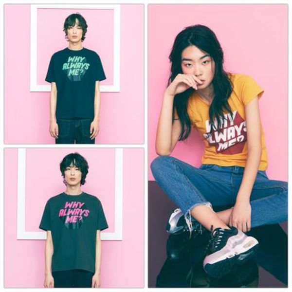 日本未入荷[FREIKNOCK] WHY ALWAYS ME TSHIRT