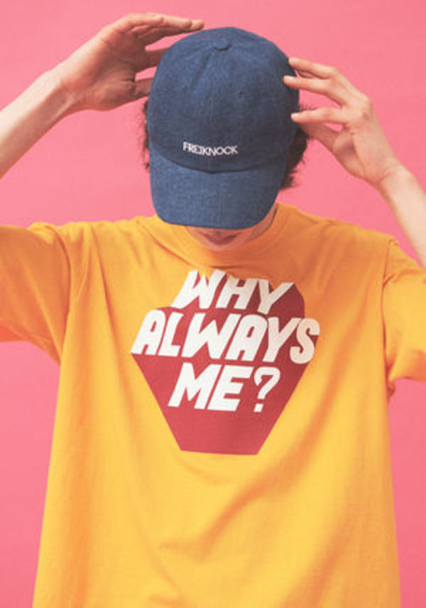 【FREIKNOCK】WHY ALWAYS ME Tシャツ 3色 KPOP 愛用