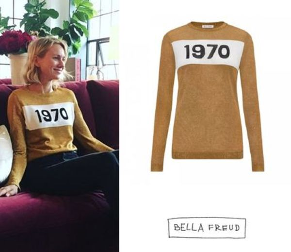 国内発| BELLA FREUD  1970 Sparkle セーター Gold