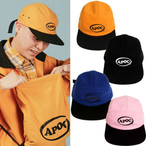 ★A PIECE OF CAKE★ロゴキャップ Oval Logo Camp Cap【全4色】