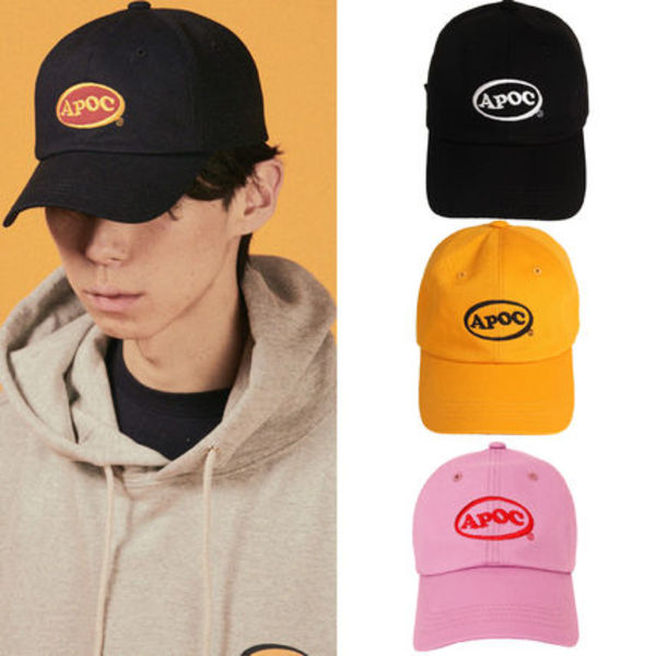 ★A PIECE OF CAKE★ロゴ キャップ Oval Logo Camp Cap【全4色】